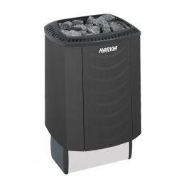 Печь электрическая Harvia Sound M45E Black без пульта