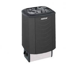 Печь электрическая Harvia Sound M45 Black со встроенным пультом