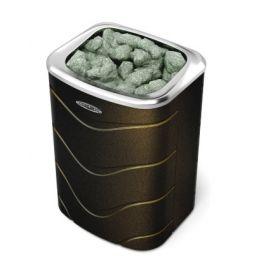 Банная печь TMF Примавольта 6 кВт черная бронза