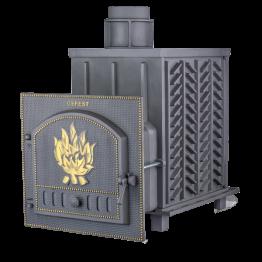 Банная печь чугунная Гефест ПБ-01-ЗК (закрытая каменка)
