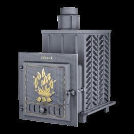 Банная печь чугунная Гефест БП-03-ЗК (закрытая каменка)