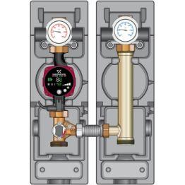 Насосно-смесительный модуль MK 130 кВт DN32, без насоса Huch EnTEC
