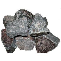 Камни порфирит колотый в коробках, 20 кг