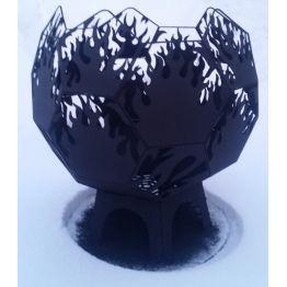Костровая полусфера AGNI D 700 с полимерным покрытием