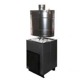 Банная печь Анютка мини графит/антрацит
