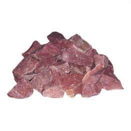 Камни малиновый кварцит в коробках, 20 кг