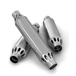 Дымоход-конвектор РЭМБО ф120,1м 1/0.5мм нерж