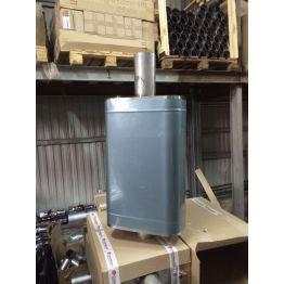 Бак-труба 50л(1м) Полукруг