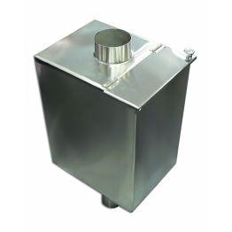 Бак-труба «Сталь-Мастер» овальный — 50 л — 115 (1,0 м) — 0,8 мм AISI 439 — гарантия 1 год